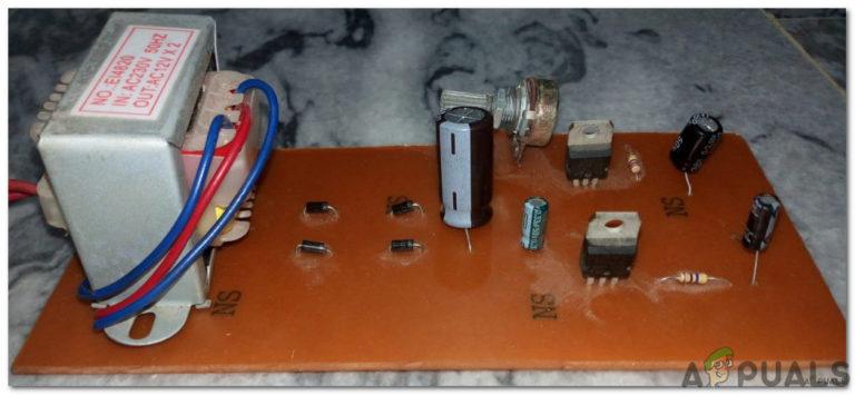 Wie erstelle ich eine variable Stromversorgung?