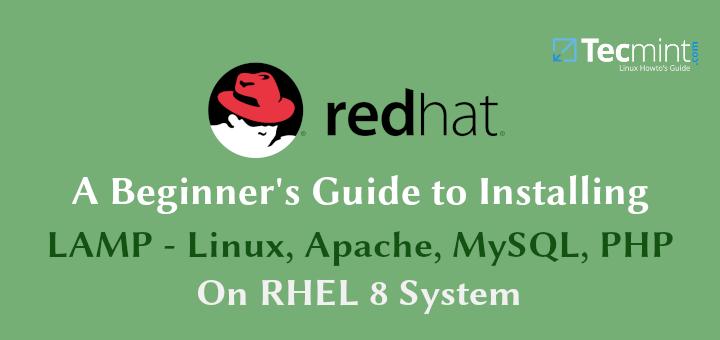 So installieren Sie Apache, MySQL / MariaDB und PHP auf RHEL 8