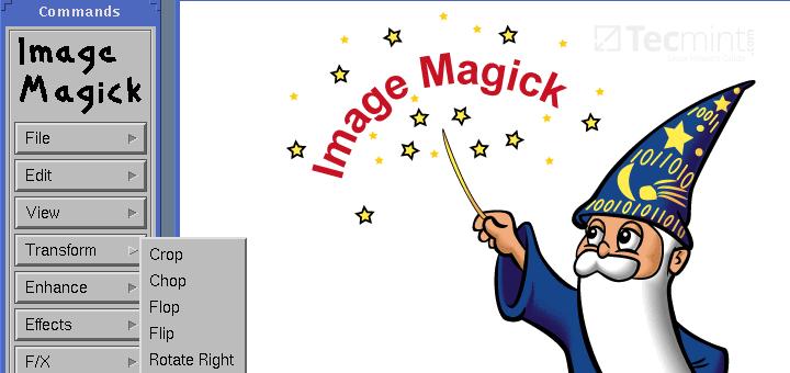 Installieren Sie das ImageMagick-Tool (Image Manipulation) unter RHEL / CentOS und Fedora