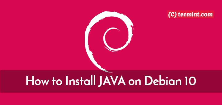 So installieren Sie JAVA mit APT unter Debian 10