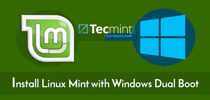 So installieren Sie Linux Mint 19 neben Windows 10 oder 8 im Dual-Boot-UEFI-Modus