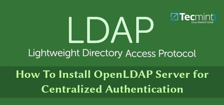 So installieren Sie OpenLDAP Server für die zentrale Authentifizierung