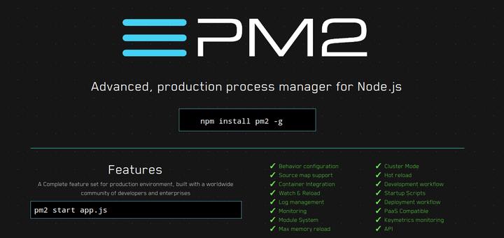 So installieren Sie PM2, um Node.js Apps auf Production Server auszuführen