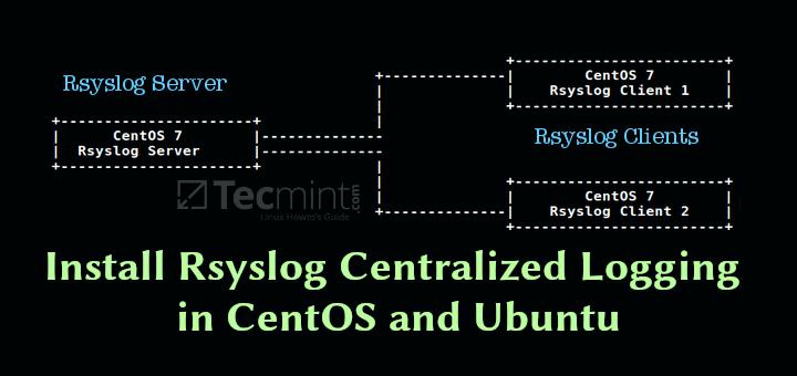 So richten Sie den zentralen Protokollierungsserver mit Rsyslog unter Linux ein