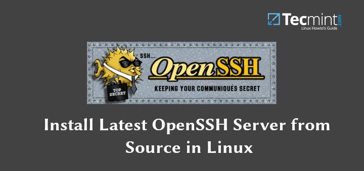 So installieren Sie OpenSSH 8.0 Server von der Quelle unter Linux