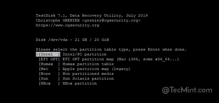 So installieren und verwenden Sie das TestDisk Data Recovery Tool unter Linux