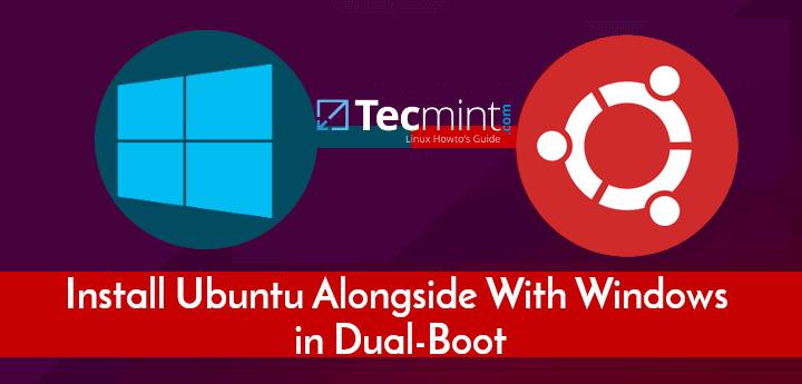 So installieren Sie Ubuntu zusammen mit Windows 10 oder 8 in Dual-Boot