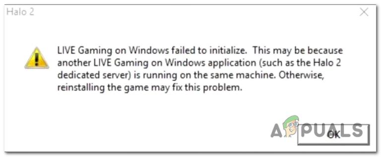 LIVE-Spiele unter Windows konnten nicht initialisiert werden?  Versuchen Sie diese Korrekturen
