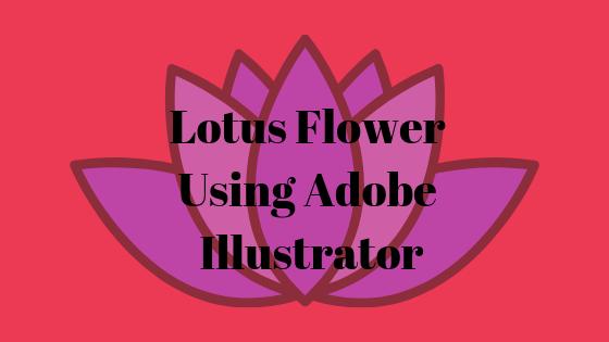 So erstellen Sie eine Lotusblume mit dem Ellipsen-Werkzeug in Adobe Illustrator