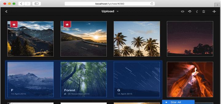 Lychee – Ein großartig aussehendes Fotomanagementsystem für Linux