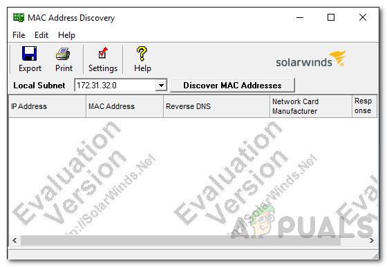So scannen Sie Ihre lokalen und Remote-Subnetze nach MAC-Adresse, DNS, Netzwerkkartenhersteller und Herstelleradresse?