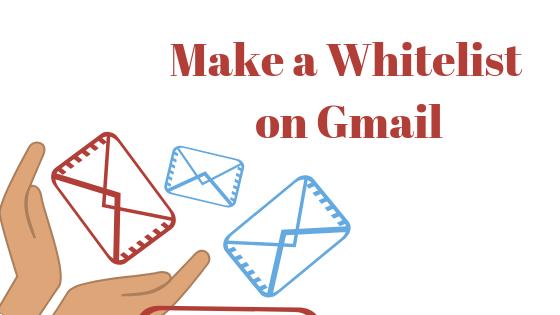 So erstellen Sie eine Whitelist, um zu verhindern, dass E-Mails in Google Mail zu Spam gelangen
