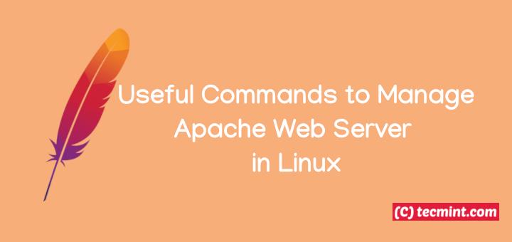Nützliche Befehle zum Verwalten von Apache Web Server unter Linux