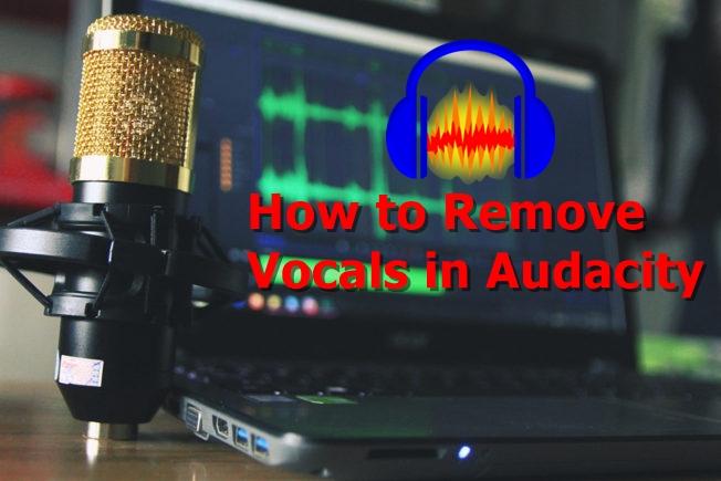 Wie entferne ich Vocals in Audacity?
