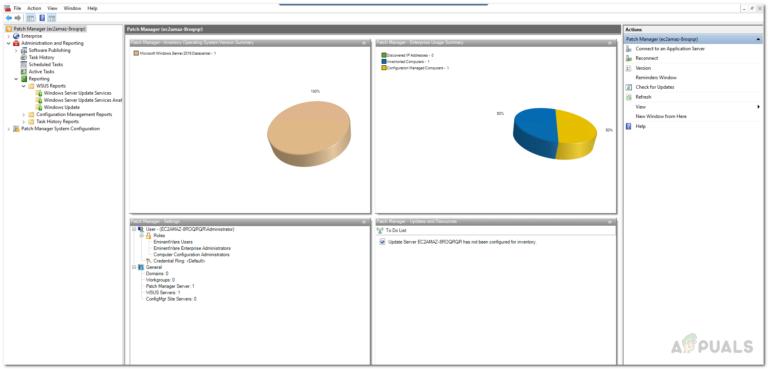 Wie generiere ich Berichte von Ihrem WSUS-Server und anderen verwalteten Computern?