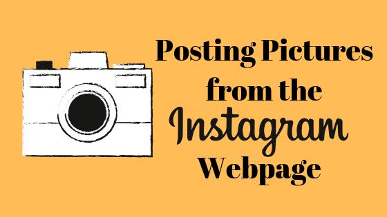 So laden Sie Bilder für einen Edge oder Chrome auf Instagram hoch