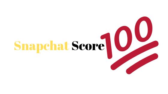 Was ist ein Snapchat Score?