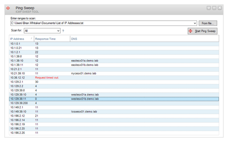 Wie identifiziere ich freie und in Gebrauch befindliche IP-Adressen in Ihrem Netzwerk?