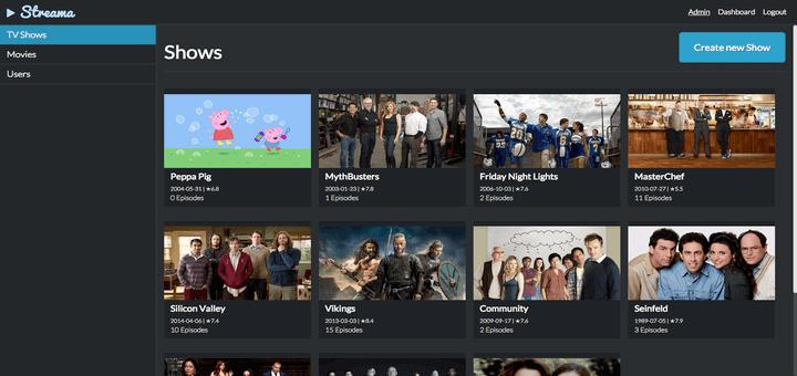 """Streama – Erstellen Sie Ihr eigenes persönliches """"Netflix"""" unter Linux"""