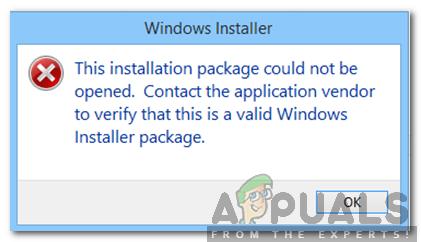 """Wie behebt man den Fehler """"Das Installationspaket konnte nicht geöffnet werden"""" in Windows?"""