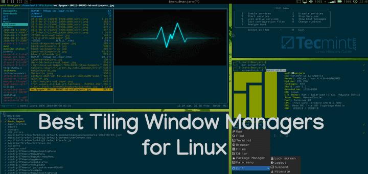 13 Best Tiling Window Manager für Linux