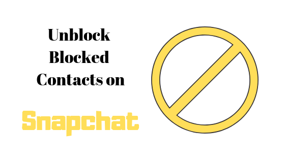 So entsperren Sie Kontakte auf Snapchat