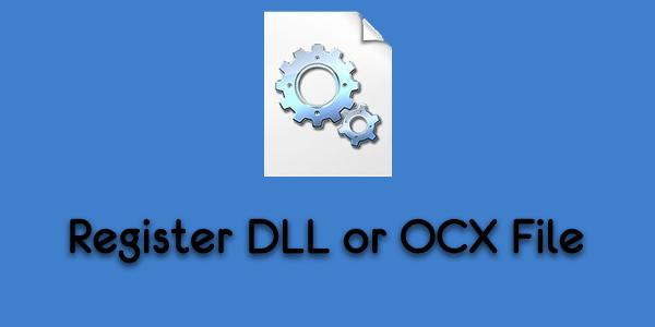 So registrieren Sie eine DLL- oder OCX-Datei in Windows 10 über die Eingabeaufforderung