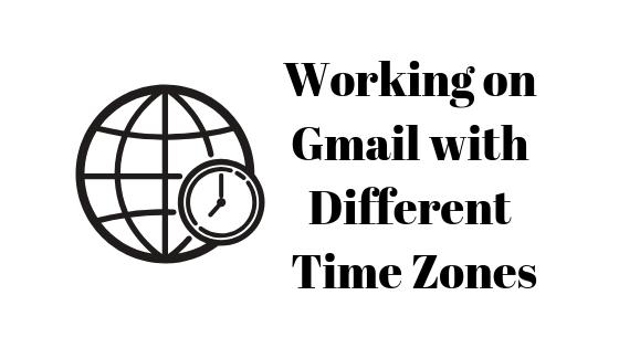 So ändern Sie die Zeitzone in Google Mail