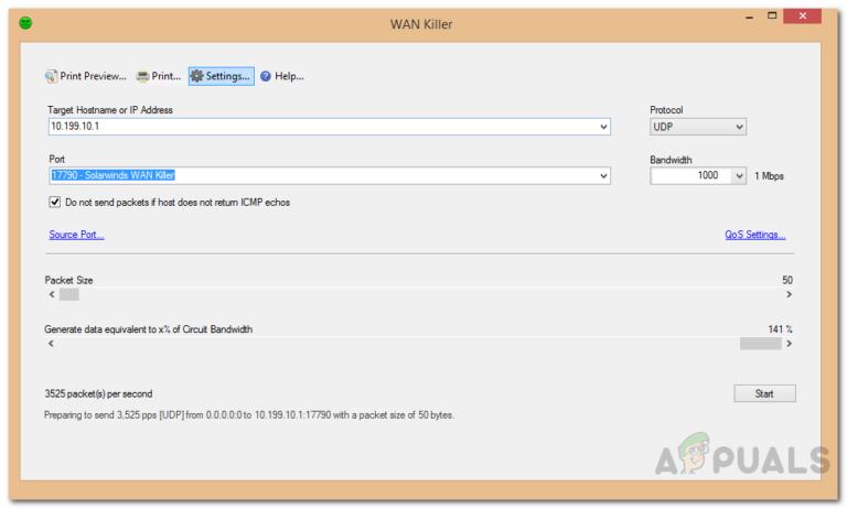 Wie teste ich die Netzwerkleistung in Ihrem WAN mithilfe von künstlichem Datenverkehr?