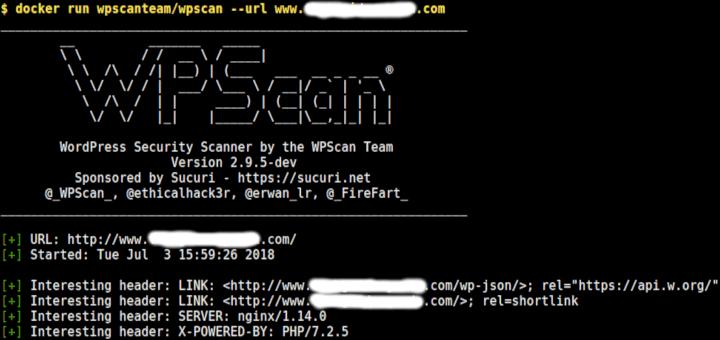 WPScan – Ein Black Box WordPress Vulnerability Scanner