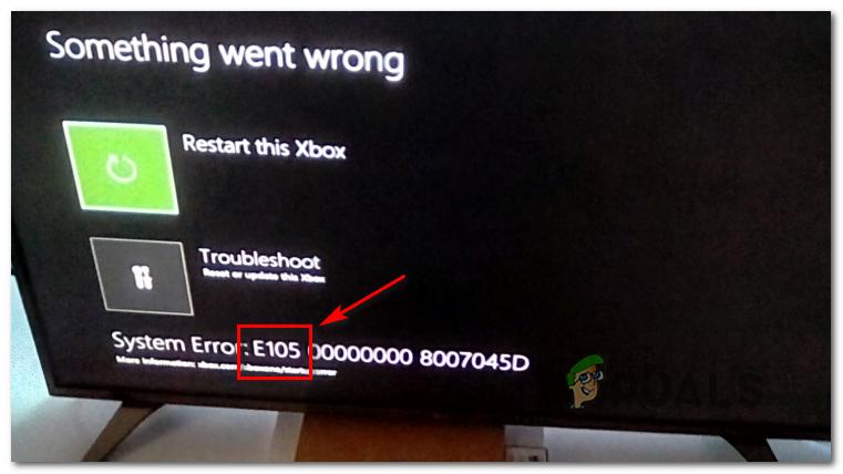 [FIX] Xbox One-Startsystemfehler E105