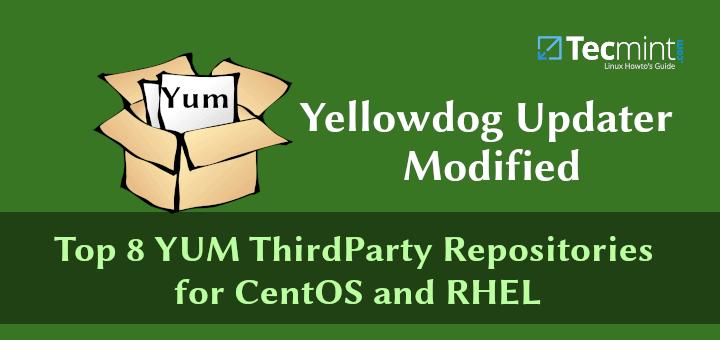 Top 8 YUM ThirdParty-Repositories für CentOS und RHEL