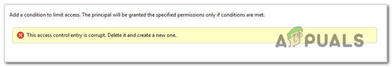 """Wie kann der Fehler """"Zugriffskontrolleintrag ist beschädigt"""" unter Windows behoben werden?"""