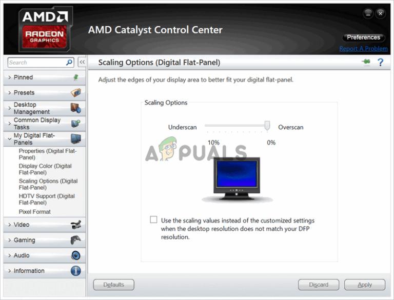 Wie behebt man das fehlende Problem im AMD Catalyst Control Center unter Windows?