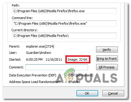 Wie überprüfe ich, ob eine Datei oder ein Programm unter Windows 10 32-Bit oder 64-Bit ist?