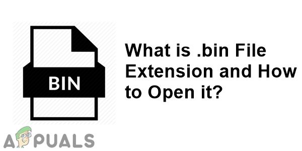 Was ist eine .bin-Datei und wie öffnen Sie eine?