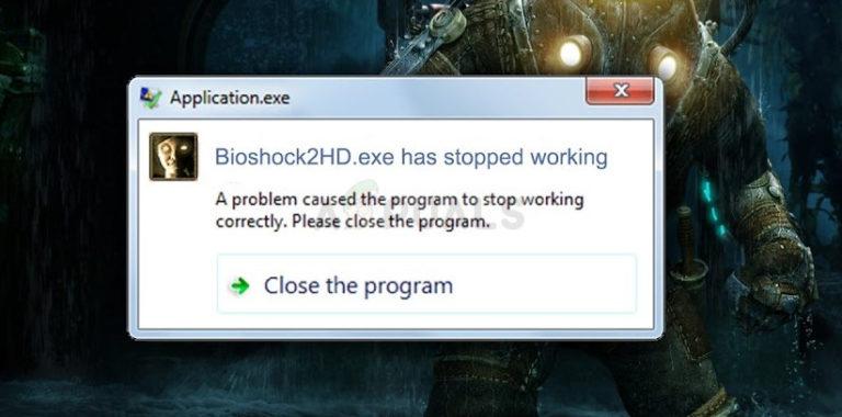 Wie behebt man das BioShock Remastered Crashing-Problem unter Windows?