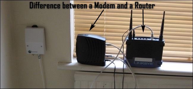 Was ist der Unterschied zwischen einem Router und einem Modem?