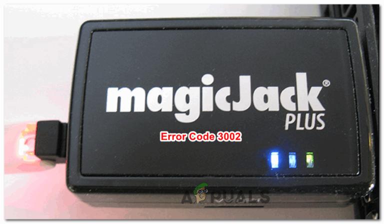 So beheben Sie den Magic Jack-Fehler 3002