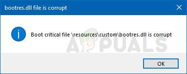 Wie kann ich eine beschädigte Bootres.dll-Datei unter Windows 10 reparieren?
