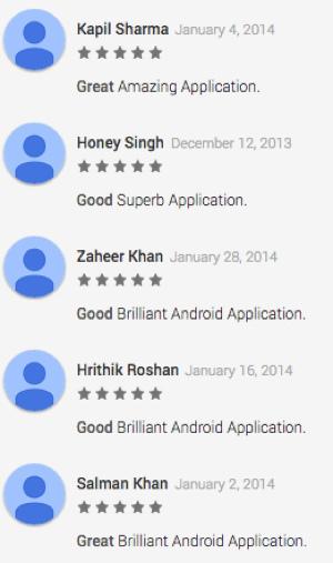 So entfernen Sie gefälschte Google Play-Bewertungen