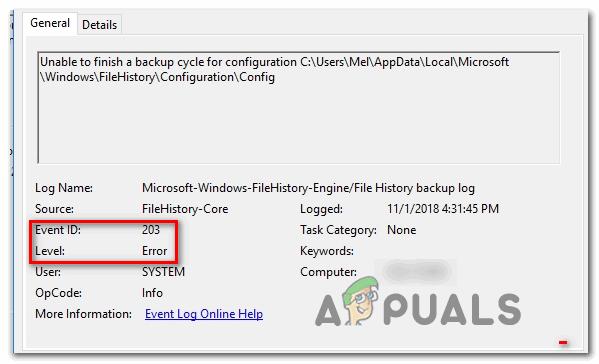 So beheben Sie den FileHistory-Fehler 201 unter Windows 10