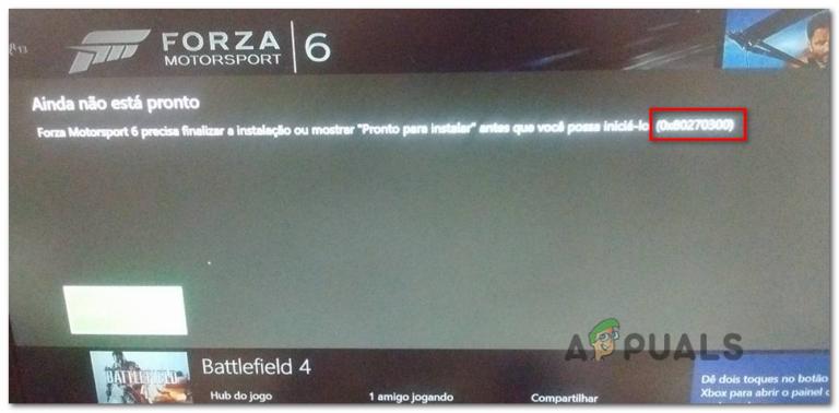 Wie behebe ich den Xbox One-Fehler 0x80270300?