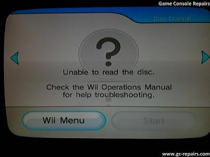 Disc auf Wii kann nicht gelesen werden