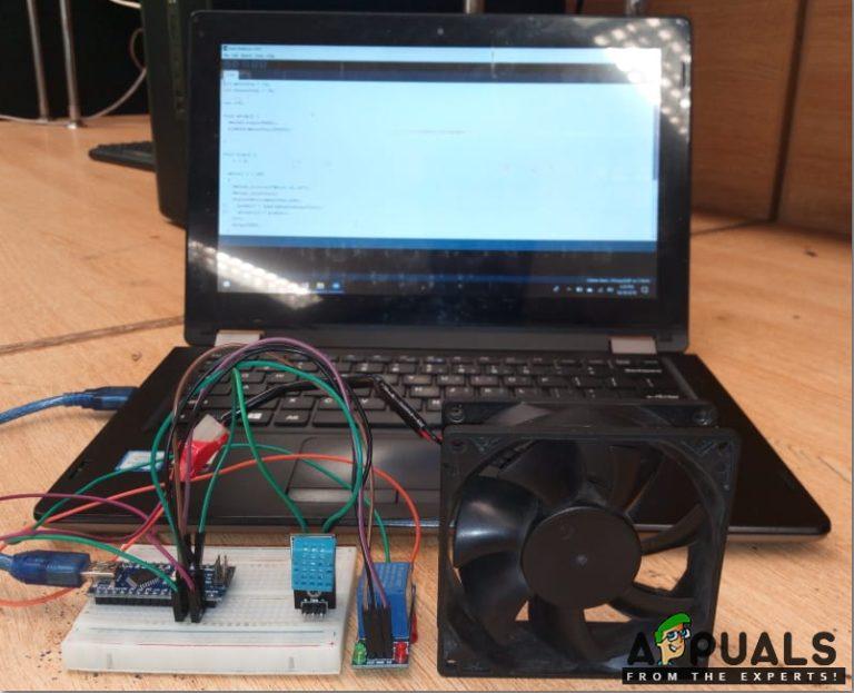 Wie erstelle ich einen automatisierten Lüfter, um zu verhindern, dass sich elektronische Geräte erwärmen?