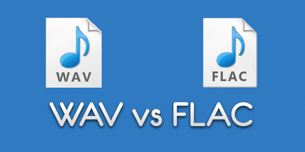 Was ist der Unterschied zwischen FLAC- und WAV-Dateiformaten?