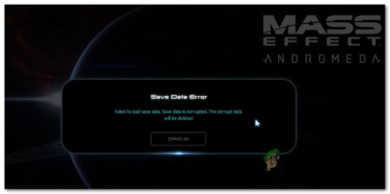 So beheben Sie Mass Effect Andromeda 'Save Data Error'