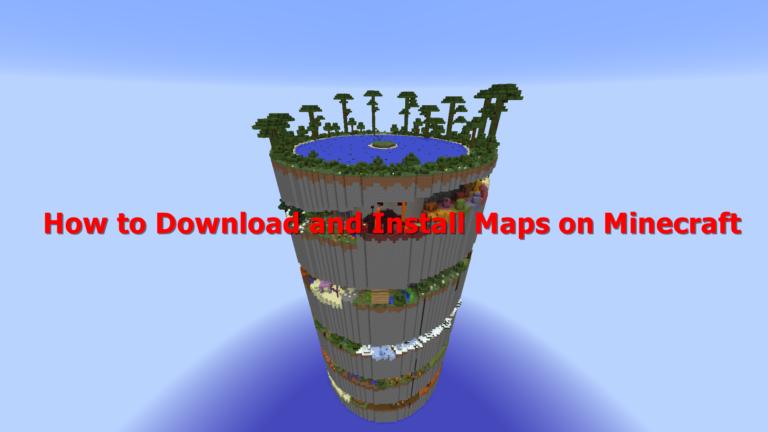 Wie kann ich Karten in Minecraft herunterladen und installieren?