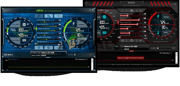 Wie behebt man, dass MSI Afterburner nicht funktioniert?
