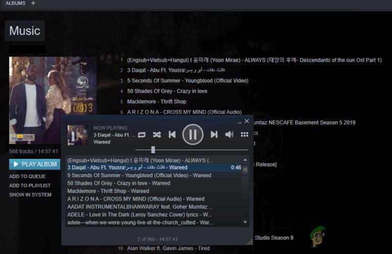 So fügen Sie Ihrem Steam Music Player Musik hinzu